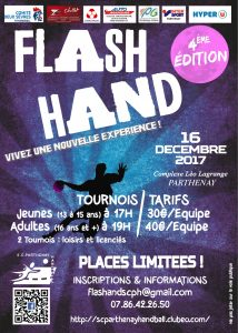 Flash hand à Parthenay (79)